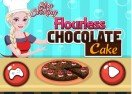 Elsa Cooking Flourless Chocolate Cake