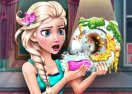 Elsa Dish Washing Realife