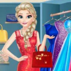Elsa Dressing Room