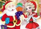 Jogar Elsa Make Christmas Gift