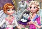 Jogar Elsa Preparing Anna's Wedding