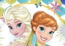 Elsa Puzzle Four Seasons