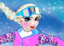 Elsa Snowboarder