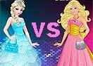 Jogos da Barbie vs Elsa