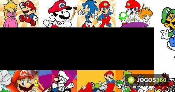Jogos De Colorir O Mario No Jogos 360
