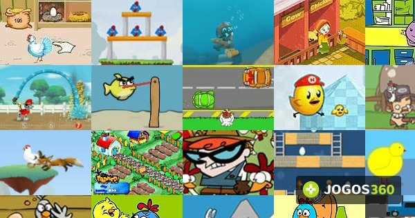 Jogos de Galinhas no Jogos 360