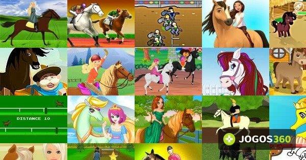 Jogos de 2 jogadores de corrida de cavalo
