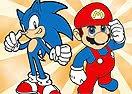 Jogos do Mario e Sonic