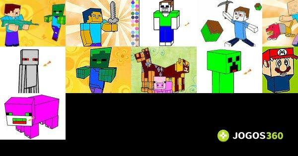 Jogos De Minecraft De Pintar No Jogos 360