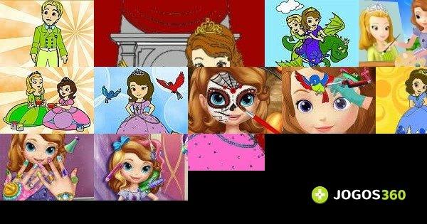 Jogos De Pintar A Princesinha Sofia No Jogos 360