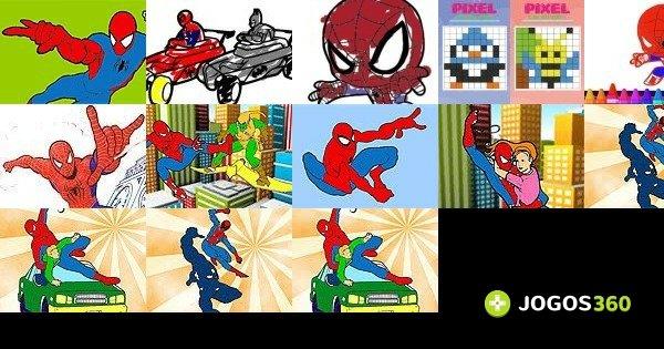 Jogos De Pintar O Homem Aranha No Jogos 360