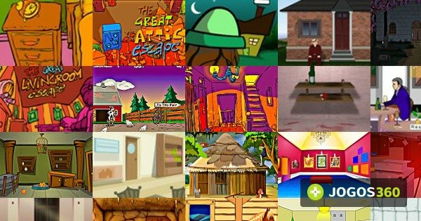 Jogos de the great house escape no jogos 360 2 for The great escape house