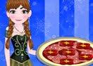 Anna Cooking Mufalletta Pizza