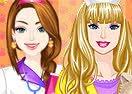 Barbie e Ellie Maquiagem Veterinária