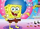 Bob Esponja: roupas engraçadas