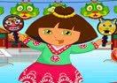 Dora in China Dress Up