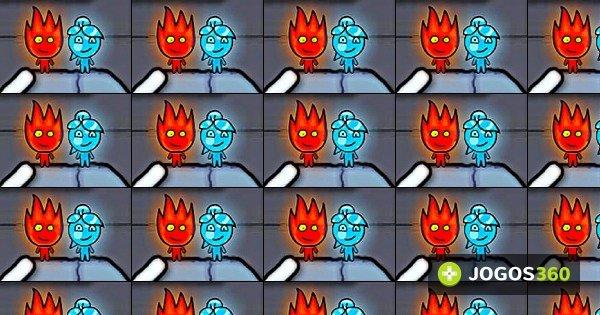 Jogo fireboy e watergirl no ice temple jogos 360