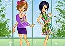 Girls in Flowers