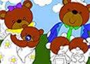 Pinte a Família de Ursos