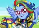 Rainbow Dash Motorcross Style