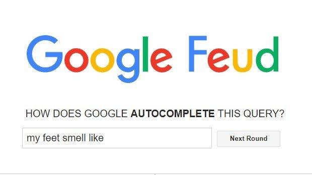 Jogo Google Feud
