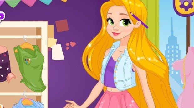 Jogo Rapunzel Art School