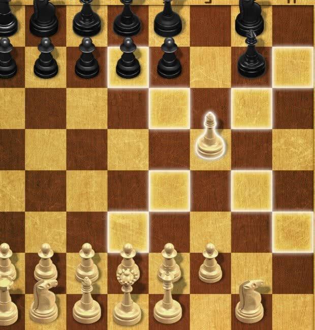 Movimento do Bispo no Xadrez