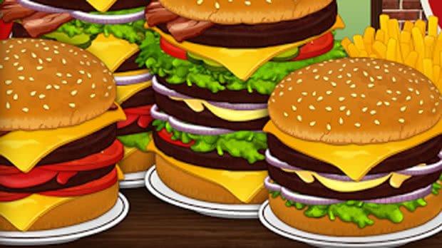 Jogos de Preparar Hambúrgueres