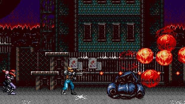 Contra Hard Cops Mega Drive