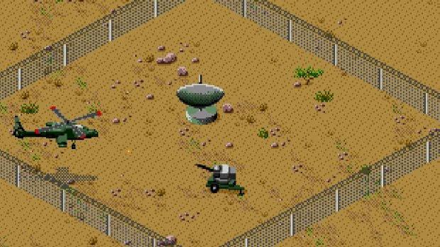 Desert Strike Megadrive
