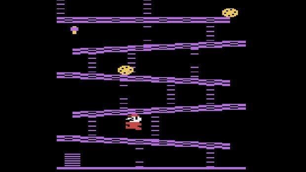Jogo Donkey Kong no Atari 2600