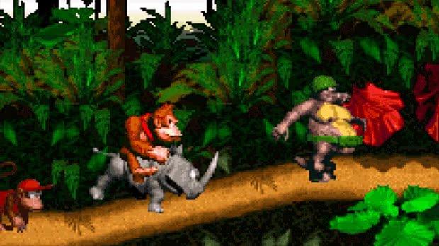 Jogo Donkey Kong Country
