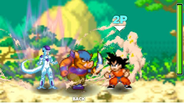 Jogo Dragon Ball Fierce Fighting