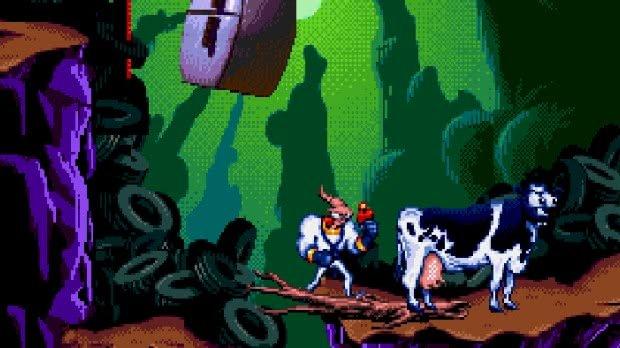 Earhworm Jim Mega Drive