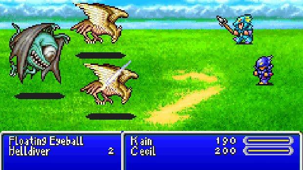 Jogo Final Fantasy IV
