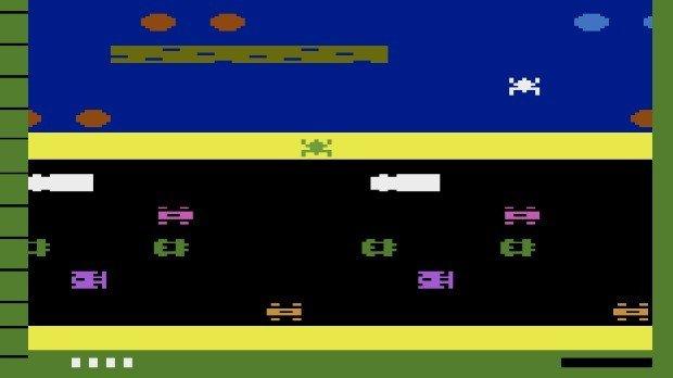 Jogo Frogger para o Atari 2600