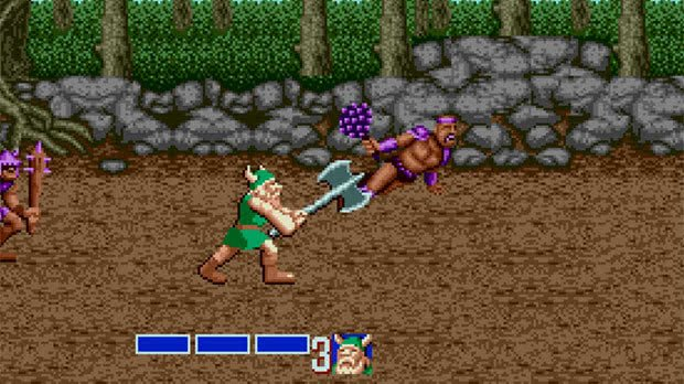 Golden Axe Jogo Mega Drive