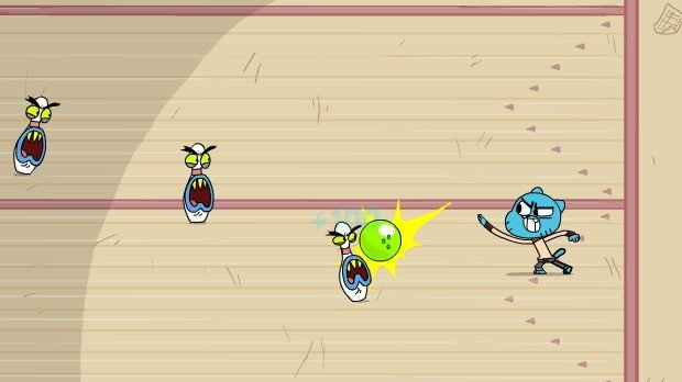 Jogo Gumball Battle Bowlers