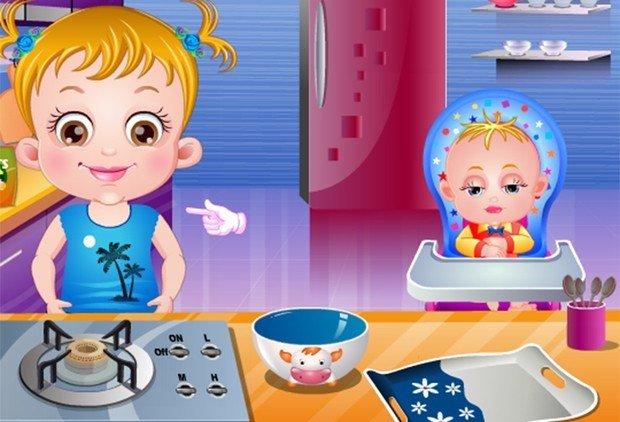 Hazel na Cozinha