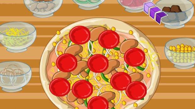 Jogos de Fazer Pizza