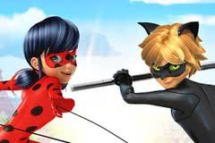 Miraculous: jogos da Ladybug e Cat Noir
