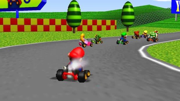 Jogo Mario Kart 64