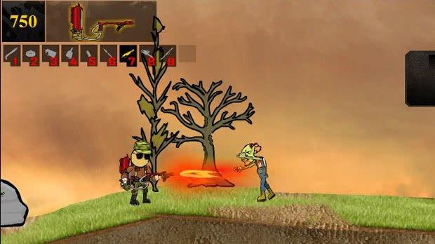 Jogo Mass Mayhem: Extra Bloody Zombie