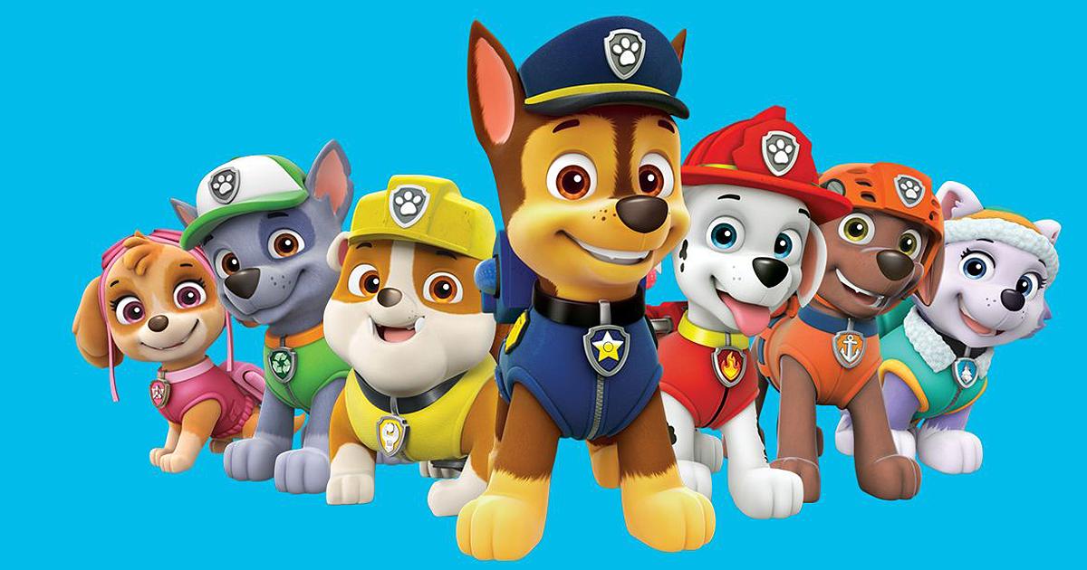 Patrulha Canina Jogos Para Conhecer E Colorir Os Cachorros