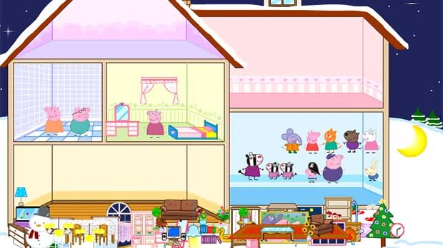 Jogo Peppa Pig Doll House
