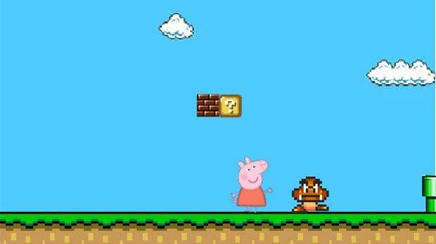 Peppa Pig Bros World Game