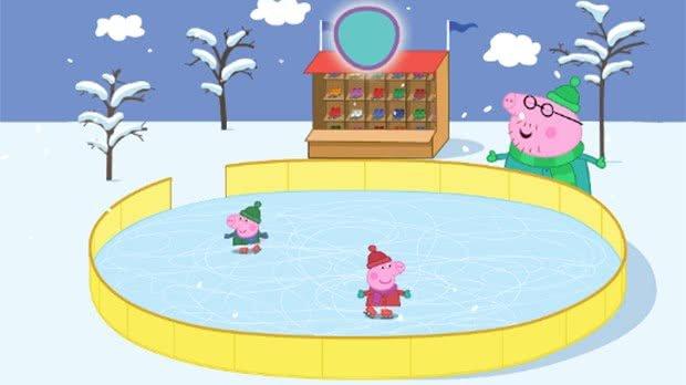 Jogo Peppa Pig Iceskating