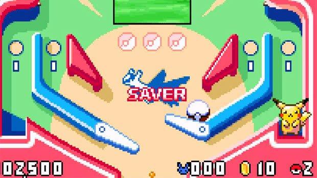 Jogo Pokémon Pinball: Ruby & Sapphire