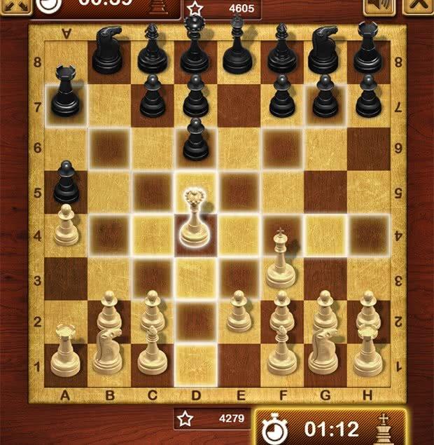 Movimento Rainha no Xadrez