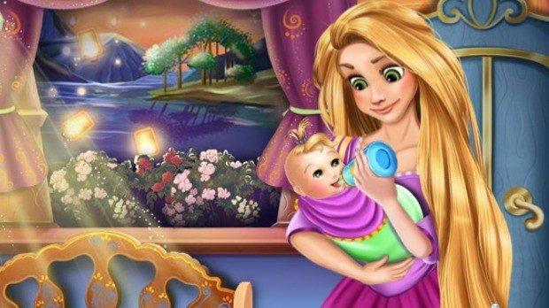 Jogo Rapunzel Baby Caring